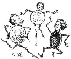 Х.К. Андерсен. Серебряная монетка. Рис 1.